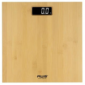 American Weigh Scales Health & Wellness BAMBOO 397 LB DIGITAL LCD BATH