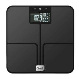 American Weigh Scales Health & Wellness BLACK Digital BMI SCALE