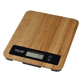 American Weigh Scales Health & Wellness TRIDENT BAMBOO DIGITAL Scale
