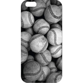 Centon Electronics Accessories OTM iPhone 6 Black Matte Case Rugged Collection, Baseball