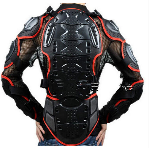 Newest  Motorcycles Armor Protection Motocross Jacket Protector Moto Cross Chest Back Protector ProtectiVe Gear two color - Trivoshop