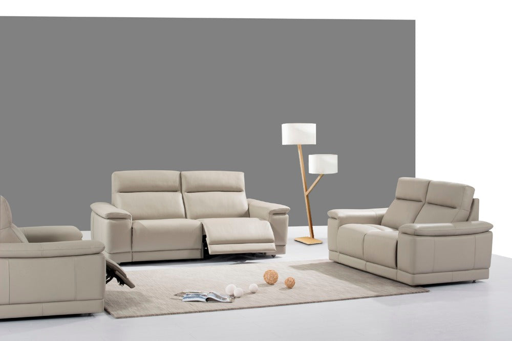 genuine leather sofa set - Trivoshop