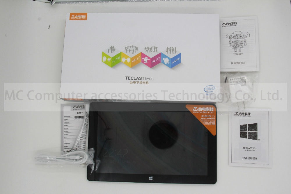 NEW!10.6 Inch Teclast X16HD 3G Dual os  Z3736F/Z3735 Tablet  Android4.4+Win8.1 1920x1080 Air Retina 2GB  32/64GB GPS OTG HDMI