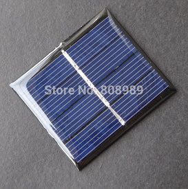 Wholesale! 240pcs/lot Mini 0.36W 2V Solar Cell Polycrystalline Solar Panel DIY Solar System Charger 42.5*48.5*2.4MM FreeShipping