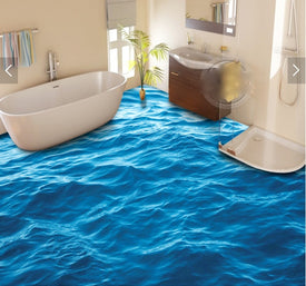 surface wave Flooring wallpaper - Trivoshop