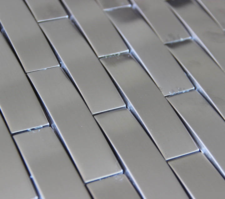 arch stainless steel metal mosaic tile