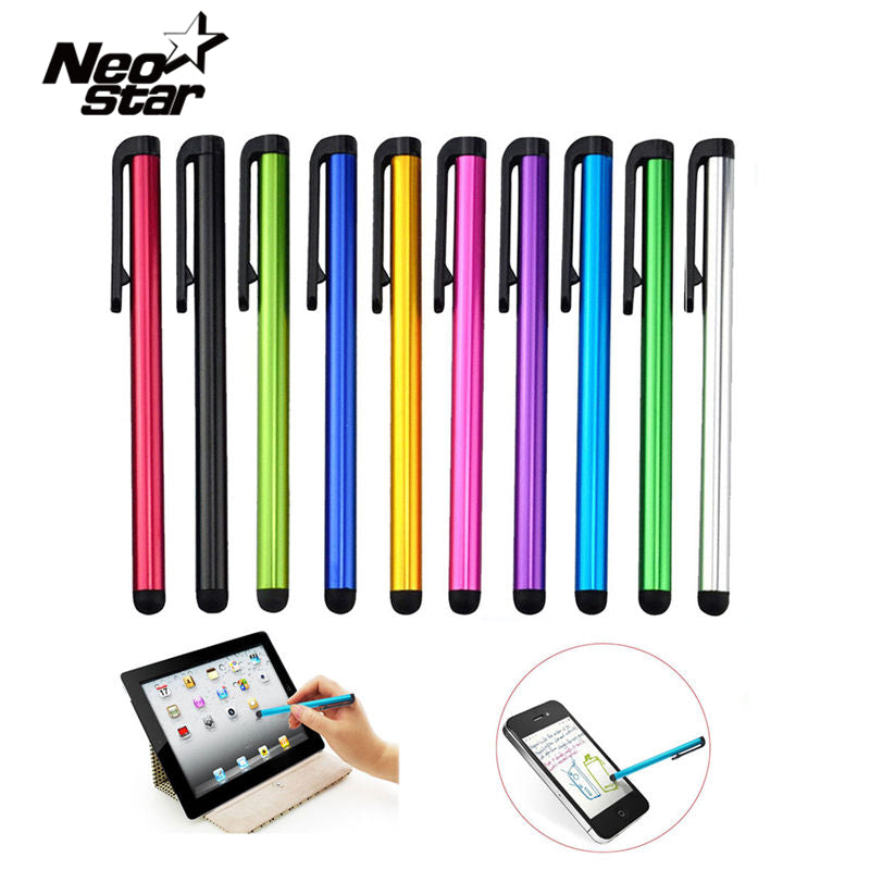 10pcs/lot Capacitive Touch Screen Stylus Pen For IPad Air Mini 2 3 4 For IPhone 4s 5 6 7 Samsung Universal Tablet PC Smart Phone - Trivoshop.com