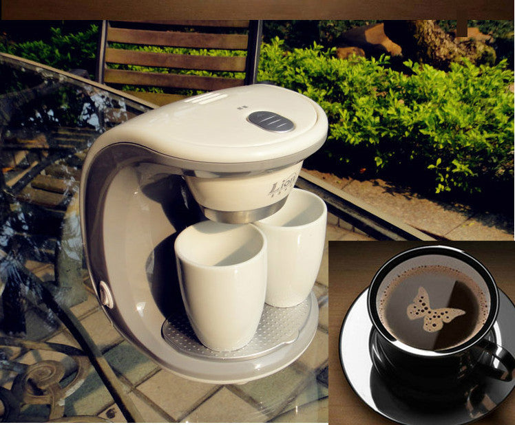 Electric Double Serve Drip Coffee Maker