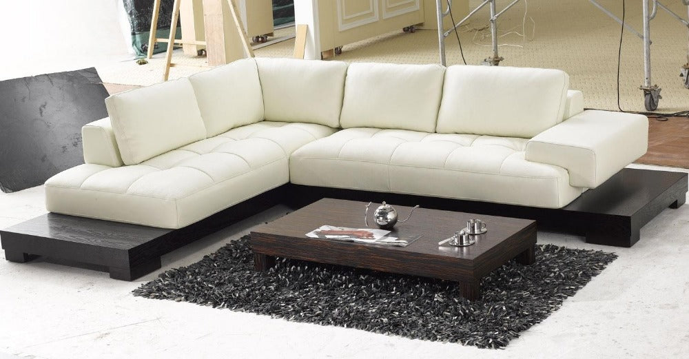 top graded italian genuine leather sofa sectional living room sofa home furniture big size with wooden bottom - Trivoshop