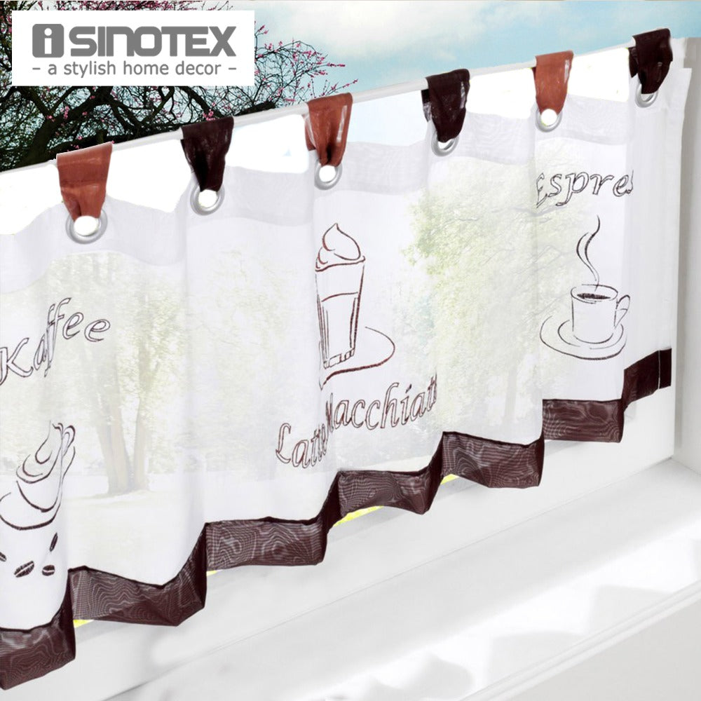 ISINOTEX Embroidered Curtains