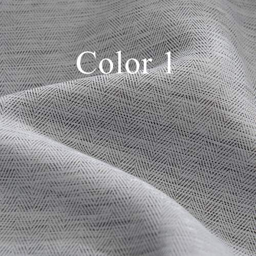 Solid Colors Blackout Curtains for the Bedroom Faux Linen Modern Curtains for Living Room Window Curtains Blinds Custom Made - Trivoshop