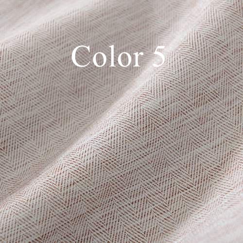 Solid Colors Blackout Curtains for the Bedroom Faux Linen Modern Curtains for Living Room Window Curtains Blinds Custom Made