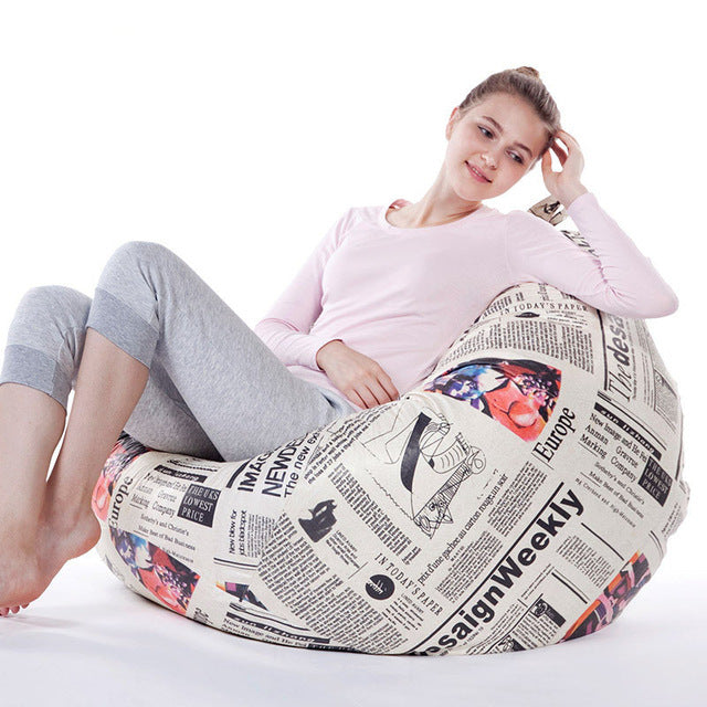 Modern Beanbag Sofa Home Furniture Sofas Bean Bag Chair For Living Room Fashion Leisure lazy comfortable Sofas varieties styles