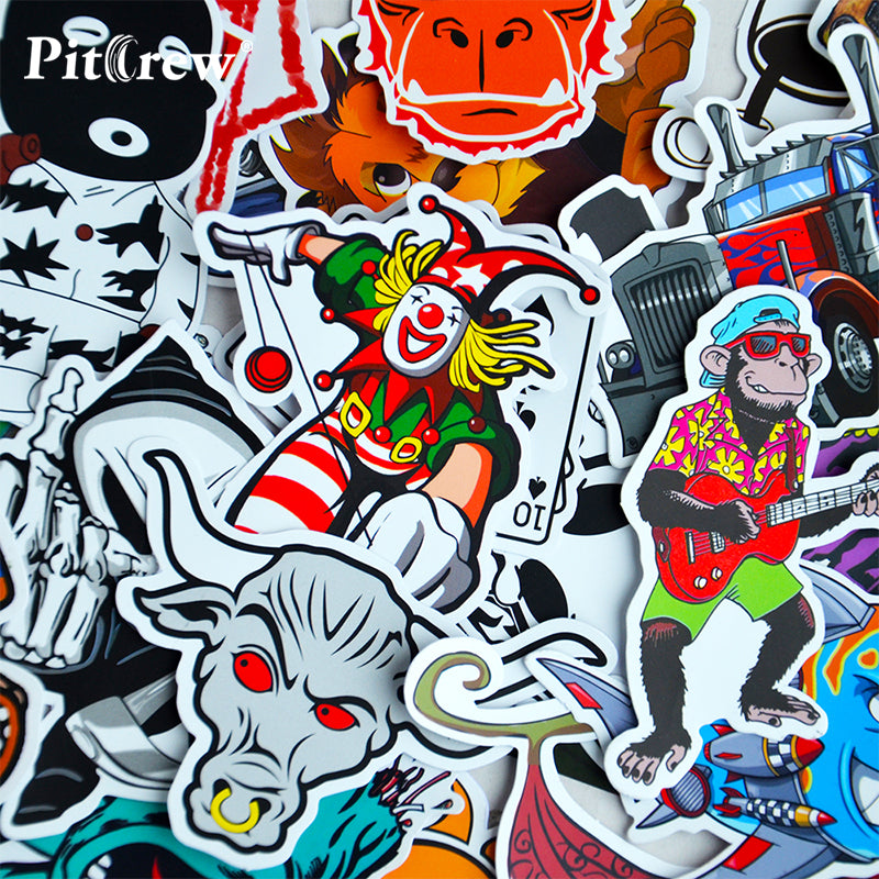 100 Car Styling JDM decal Stickers for Graffiti Car Covers Skateboard Snowboard Motorcycle Bike Laptop Sticker Bomb Accessories - Trivoshop.com
