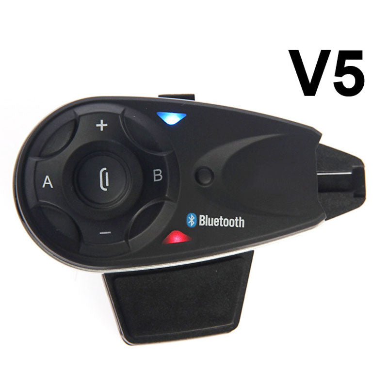 1200M BT Bluetooth Motorcycle Helmet Intercom for 5 Riders Interphone Headset Talk at same time V5 Free Shipping!! - Trivoshop.com