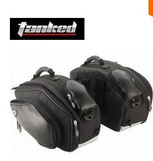 1 set Genuine motorcycle tank bag side luggage motorcycle waterproof saddlebags alforjas moto alforge backpack - Trivoshop.com