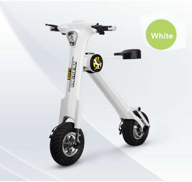 12inch city mini smart folding electric bike lithium electricity electric scooter portable car instead of walking ebike - Trivoshop.com