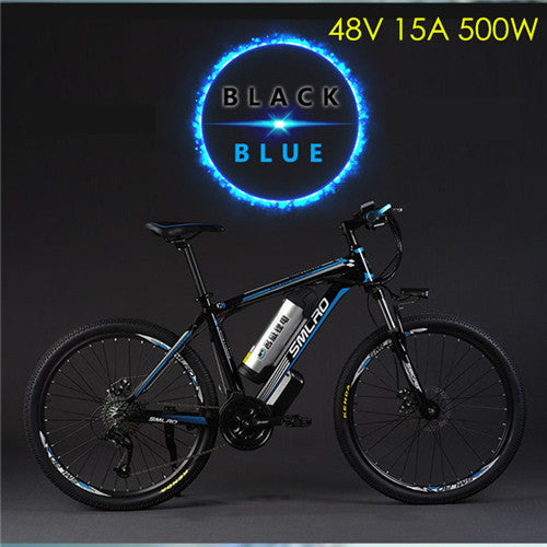 Original X-Front brand 26 inch 48V 500W 20A Lithium Battery Mountain Electric Bike 27 Speed Electric Bicycle downhill ebike - Trivoshop