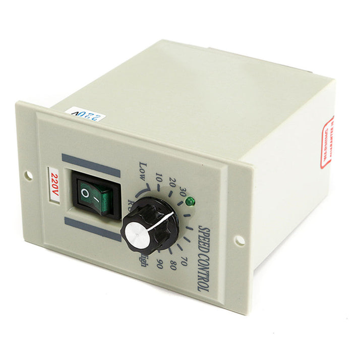 Newest AC 220V Control Switch Output DC 0-220V 400W Speed Motor Controller For Sewing Machines