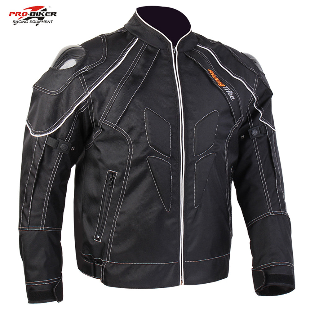 Motorcycle Racing Men's Jacket Street Road Protector Motocross Body Armour Jacket Carbon fiber Protective Gear Jackets - Trivoshop