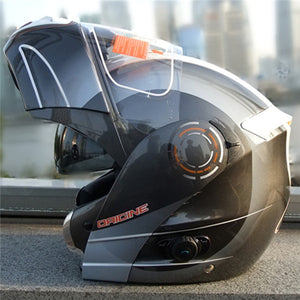 new ORIGINE arrival flip up motorcycle helmet with bluetooth full face casco modular helmets dual helmet shield Bluetooth helmet