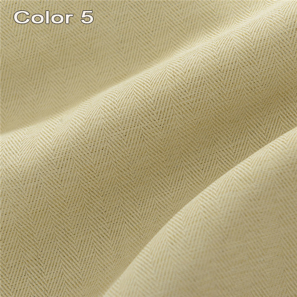 Solid Colors Faux Linen Modern  Blackout Curtains for the Bedroom for Living Room Window Curtains Blinds Custom Made - Trivoshop