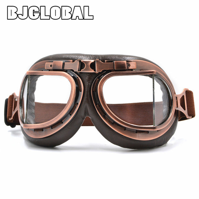 Harley style motorcycle goggles