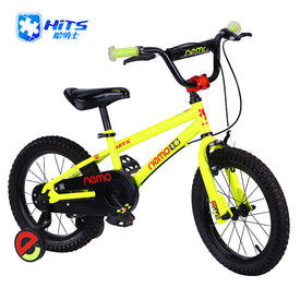 HITS Nemo Cycling Kid Bicycle Child's Bike Front V Brake Rear Drum Brake Safety Kid's Bike 12-18 Inch 4 Colors Steel Bicicleta