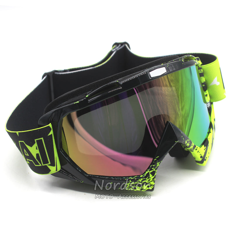 Professional man/women motocross goggles glasses cycling eye ware MX off Road helmets goggles Sport gafas for motorcycle - Trivoshop