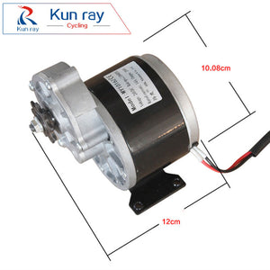 12V 24V250W Brush DC Gear Motor LINGYING MY1016Z Electric Bicycle Motor MTB Bike Ebike Brushed Motor Electric bike Accessories - Trivoshop.com