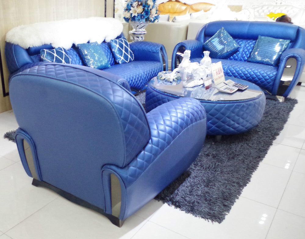 hotel blue sofa SL0011 - Trivoshop
