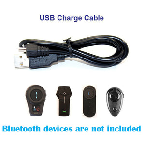 1 pc USB Charing Cable Suitable for  FDCVB T-COMVB TCOM-SC COLO KIE Motorcycle Bluetooth Interphone Headset Helmet Intercom - Trivoshop.com