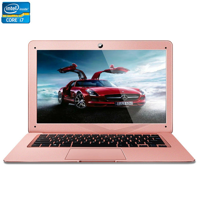 Intel Core i7 CPU 14inch 8GB RAM+240GB SSD Windows 7/10 System 1920X1080P FHD Wifi Bluetooth Ultrathin Laptop Notebook Computer