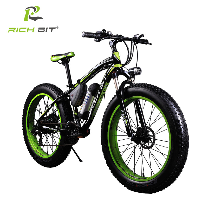 New Ebike 21speed Electric Fat Bike 36V 10.4AH Lithium Battery Electric Snow Bike 36V 350 Watt Electric Mountain Bicycle Cycling - Trivoshop