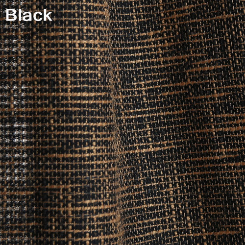 Japan Solid Color Burlap Blackout Curtains for Living Room Window Curtains for the Bedroom Curtain Custom Made