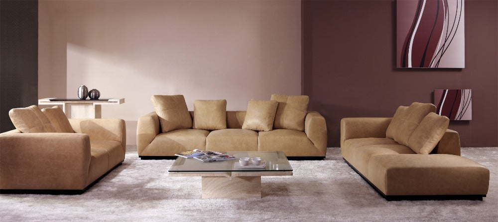 modern furniture set leather sectional sofa home furniture living room sofa set hight standard shipping to your port