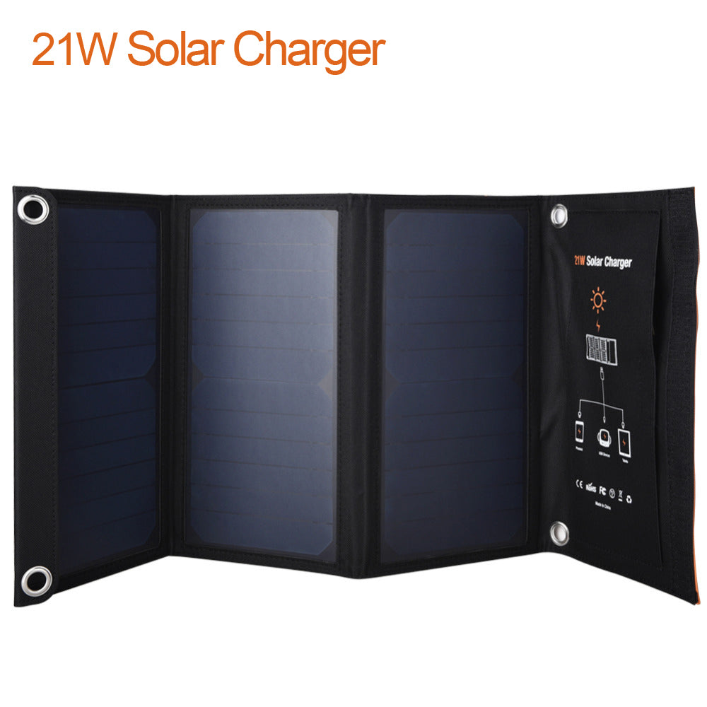 Foldable Solar Panel Battery Charger