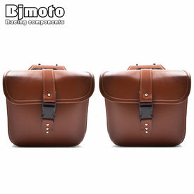 Motorcycle PU Leather Saddle bags