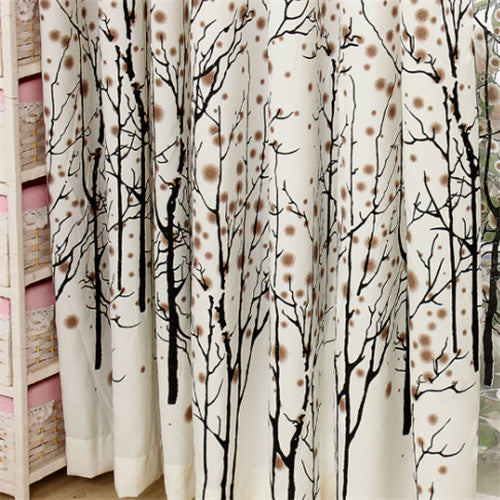 {byetee} Fashion White Curtain Window Cortina Bedroom Curtains for Living Room Curtain Kitchen Window Curtains Doors Drapes
