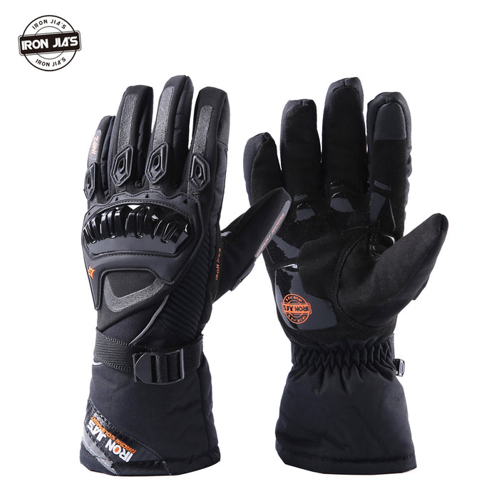 Motorcycle Gloves Winter Touch Screen Waterproof Racing Gloves Motosiklet Eldiven Guantes Moto Luvas Alpine Motocross Stars Men