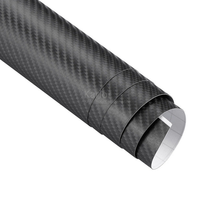 Carbon Fiber Vinyl Car Wrap Sheet Roll Film - Trivoshop