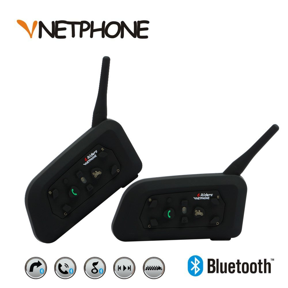 Bluetooth Intercom Headset - Trivoshop