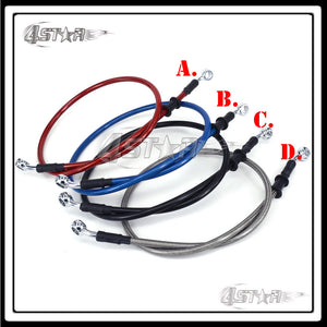 1000 1100 1200 1300 1400 1500 1600 1700 1800 1900 2000 mm Red Blue Black Titanium Motorcycle Brake Clutch Oil Hose Line Pipe - Trivoshop.com