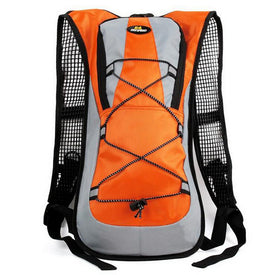 Waterproof Nylon Solid Zipper Motorcycle Backpack