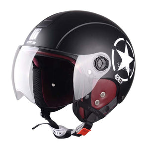 Semi-Packed Muntjac Sude linner Sunscreen Electric Vehicle Helmet  Motorcycle Motociclet Half Casco Capacete Helmets 89d911d9e36c