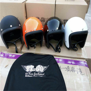 Motorcycle Helmet ECE certification  Brand Japan TT&CO Thompson Glass Fiber Vintage motorcycle helmet Harley motorcycle helmet