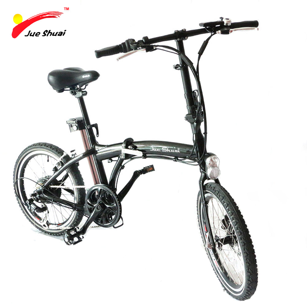 Electric Bike with Brushless Motor