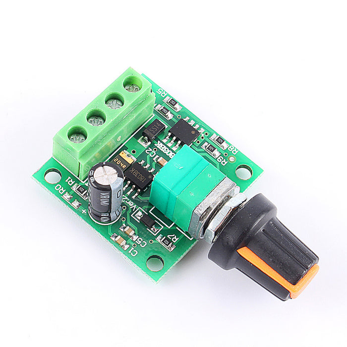 Fast Shipping DC New 1.8V 3V 5V 6V 12V 2A Low Voltage Motor Speed Controller PWM 1803B - Trivoshop