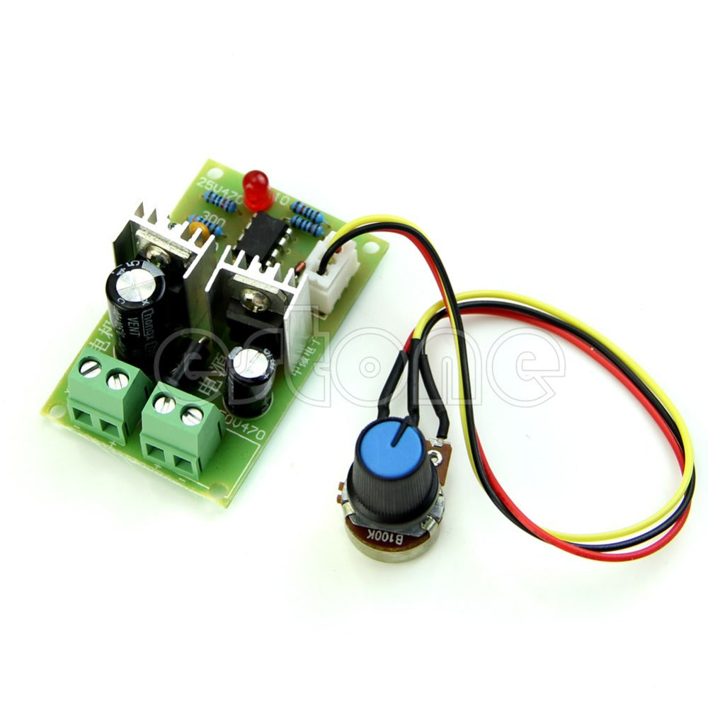 PWM DC Motor Speed Regulator Controller Switch - Trivoshop