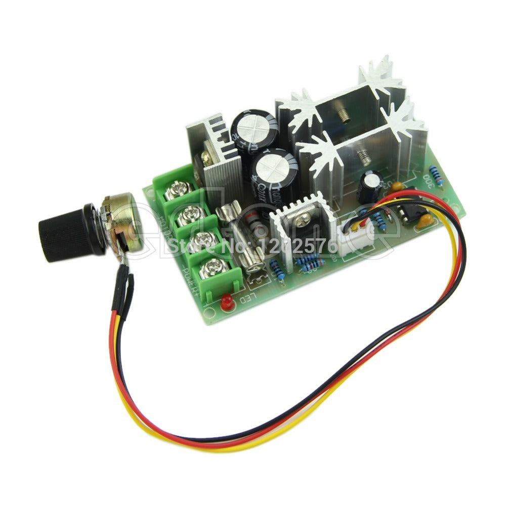 HOT! Universal DC10-60V PWM HHO RC Motor Speed Regulator Controller Switch 20A H02 - Trivoshop